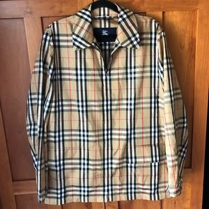 Burberry London packable windbreaker jacket